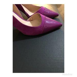 Zara Shoes - Gorgeous purple pointy Zara Heel Size 9